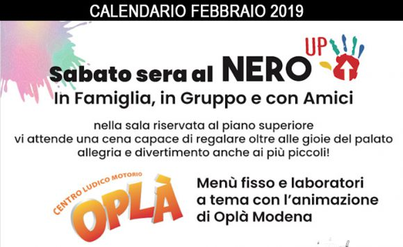 "I Sabati ""Nero Up"" di Febbraio"