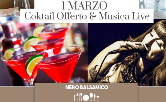 Venerdì Sera 01 Marzo: Musica, Cucina, Chiacchiere e Bollicine!