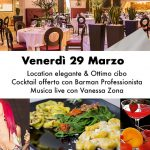 Live Music con Vanessa Zona – Venerdì 29 Marzo