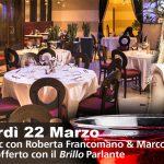 Cena con Musica Live Venerdì 22 Marzo