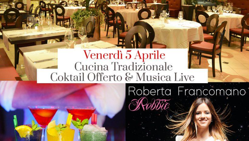 Venerdì Sera con la Musica Live di Roberta Francomano