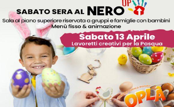 Cena per gruppi e famiglie con bambini al NeroUp