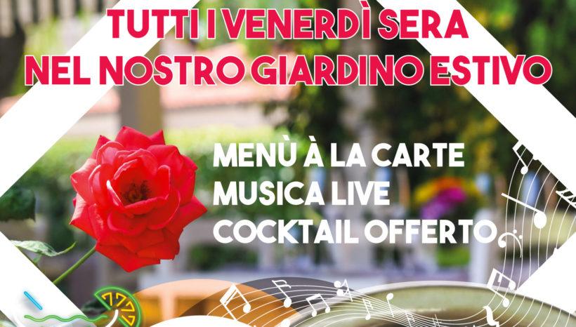 12 luglio – Venerdì Sera Al Nero Balsamico, cena con musica dal vivo