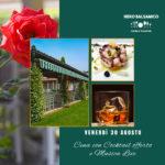 Venerdì Sera 30 agosto al Ristorante Nero Balsamico