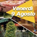 Venerdì sera 9 Agosto Cena al Nero Balsamico