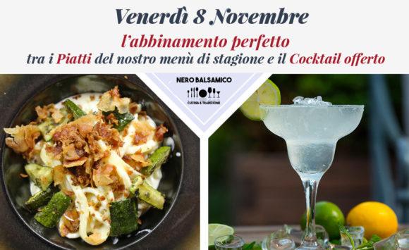 Al venerdì sera gusta i piatti del nostro menù abbinati perfettamente ad un cocktail offerto!