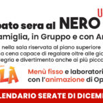 Calendario Nero Up di Dicembre