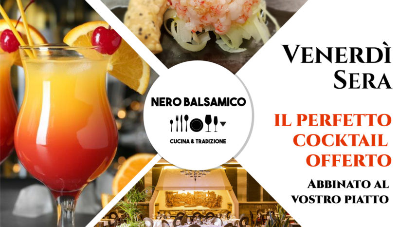 Prova il cocktail perfetto per ogni nostro piatto
