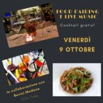 Food Pairing Drink & Live Music – Venerdì 9 Ottobre