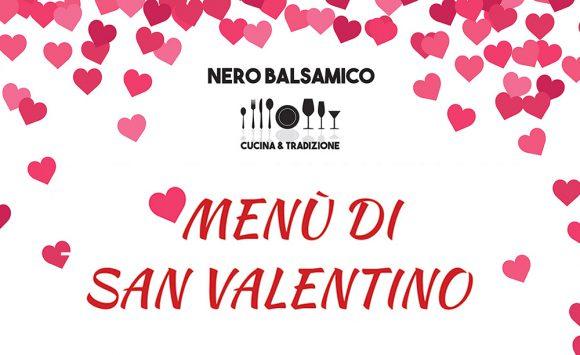 Cena di San Valentino al Nero Balsamico