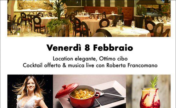 Cena con musica dal vivo al Nero Balsamico