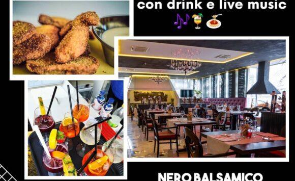 Food Pairing Drink & Live Music – Venerdì 23 ottobre